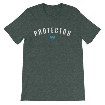 'Protector' Unisex short sleeve t-shirt